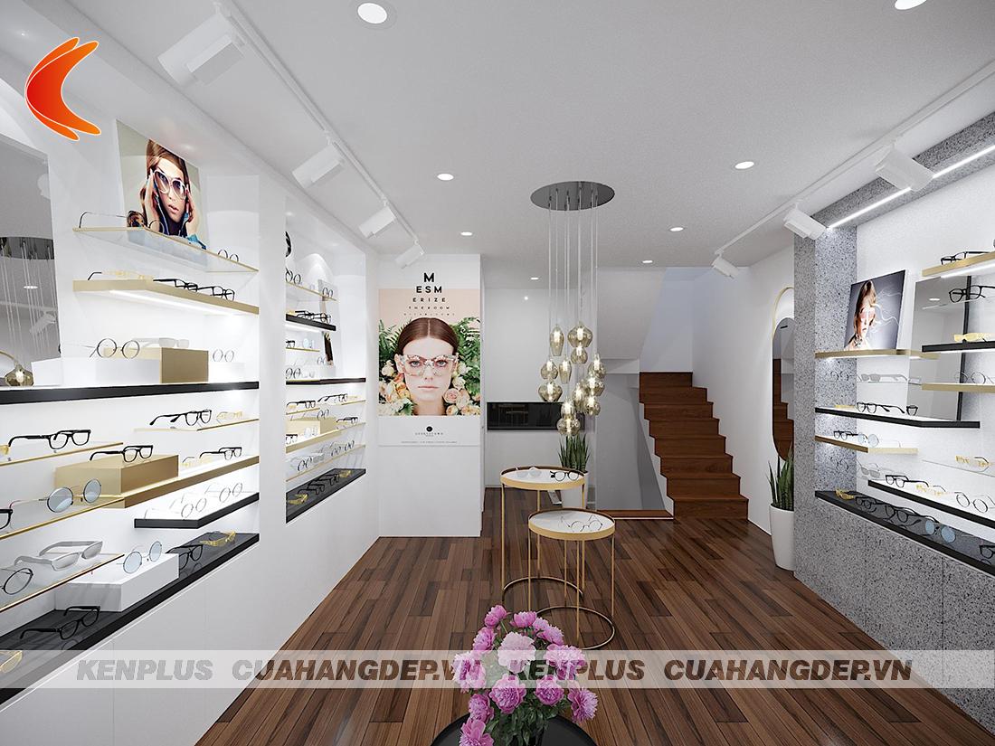 Thiết kế showroom kính mắt