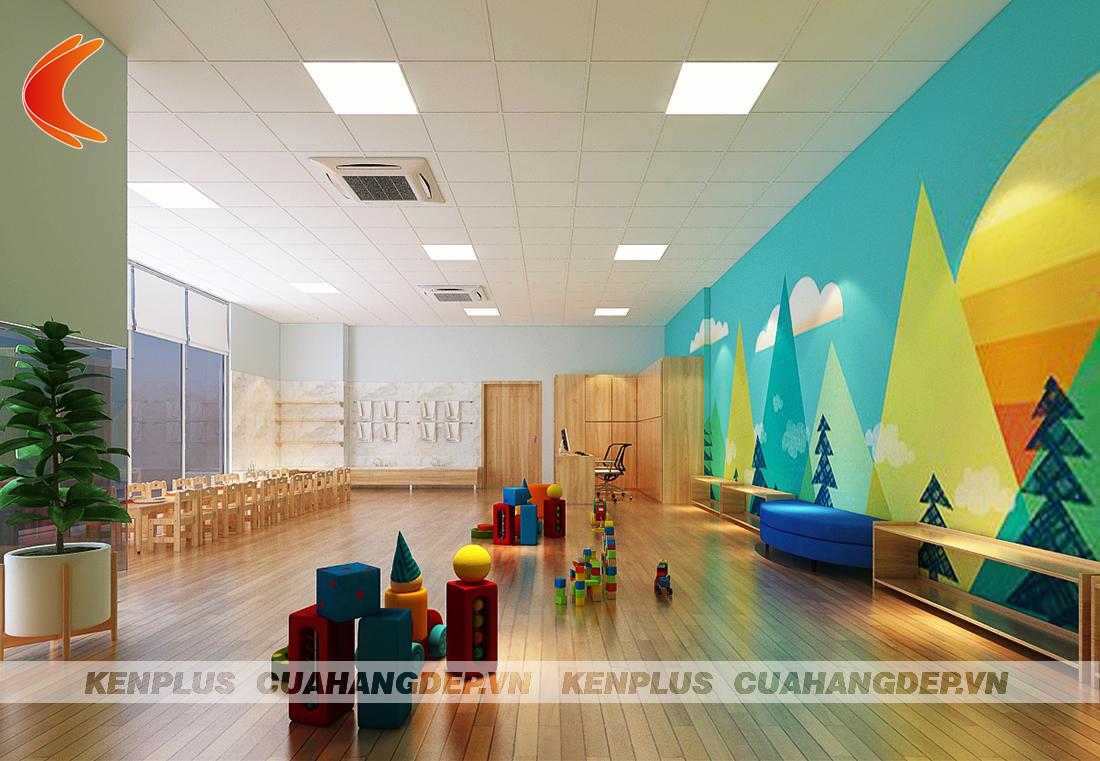 Thiết kế trường mầm non Homie school tại Hà Nội