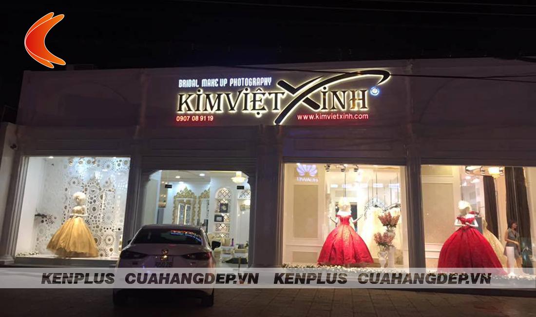Sự thăng hoa cảm xúc trong thi công ảnh viện áo cưới Kim Việt Xinh