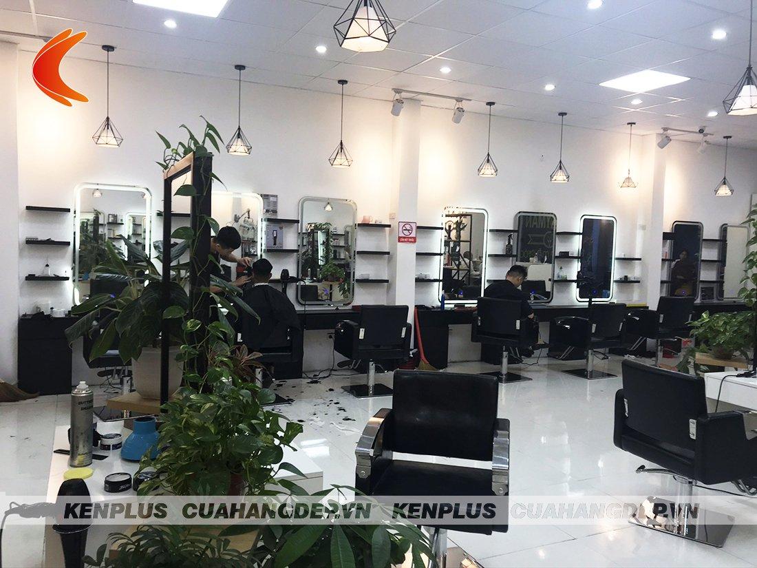 Thiết kế thi công salon tóc Lucky Man tại Ninh Bình