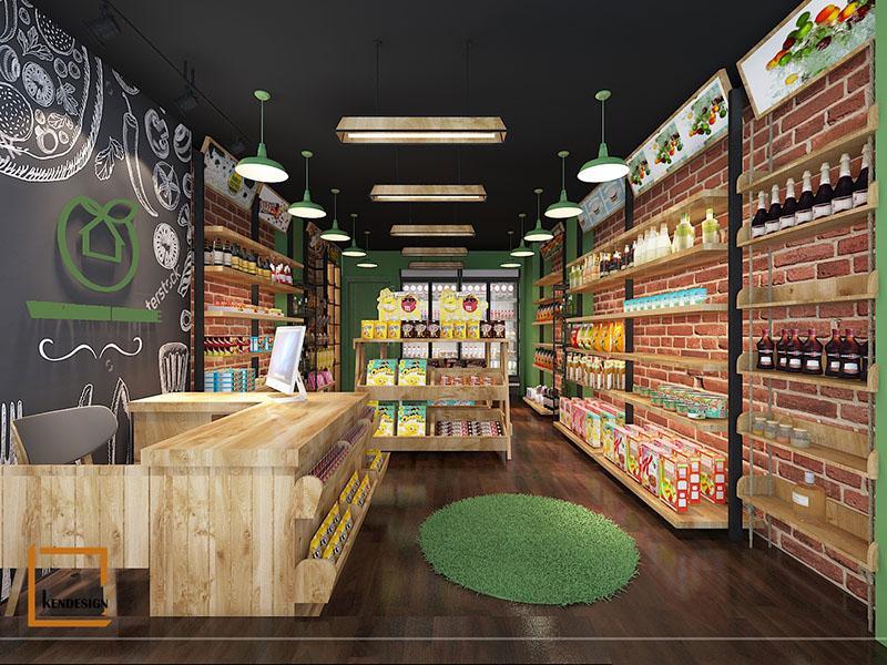 Bật mí cách thiết kế cửa hàng thực phẩm sạch hiện đại mà tiết kiệm chi phí