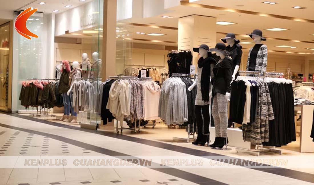 Lưu ý sử dụng ánh sáng trong thiết kế shop thời trang