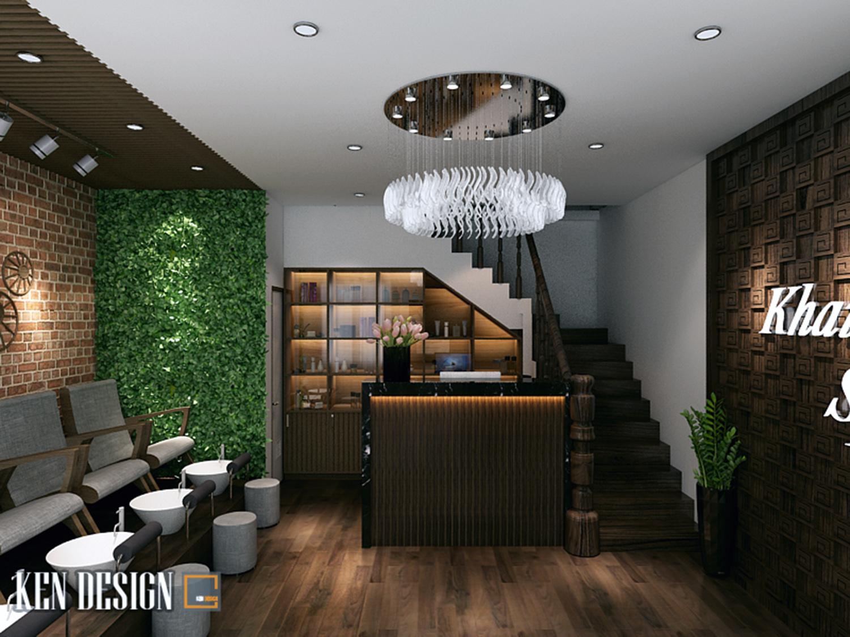 Mẫu thiết kế cửa hàng Khải Spa
