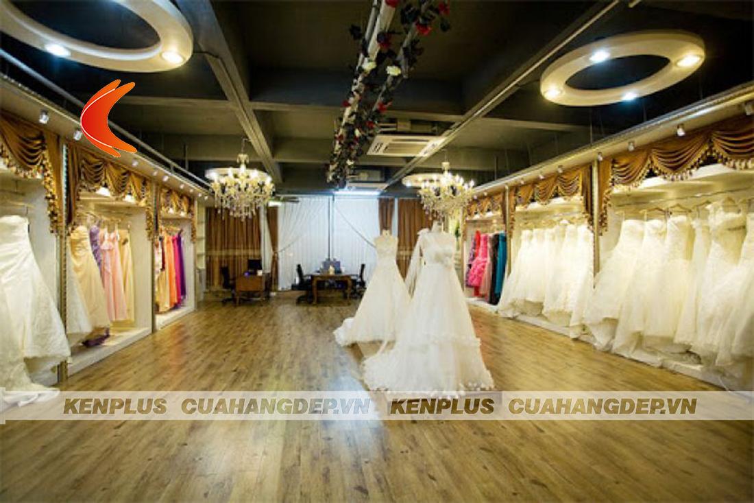 Một số lưu ý khi thiết kế showroom áo cưới