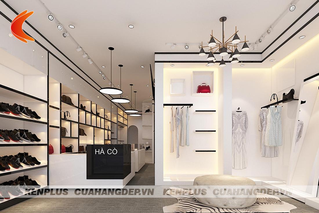 Thiết kế shop thời trang Hà Cò ấn tượng tại Tuyên Quang