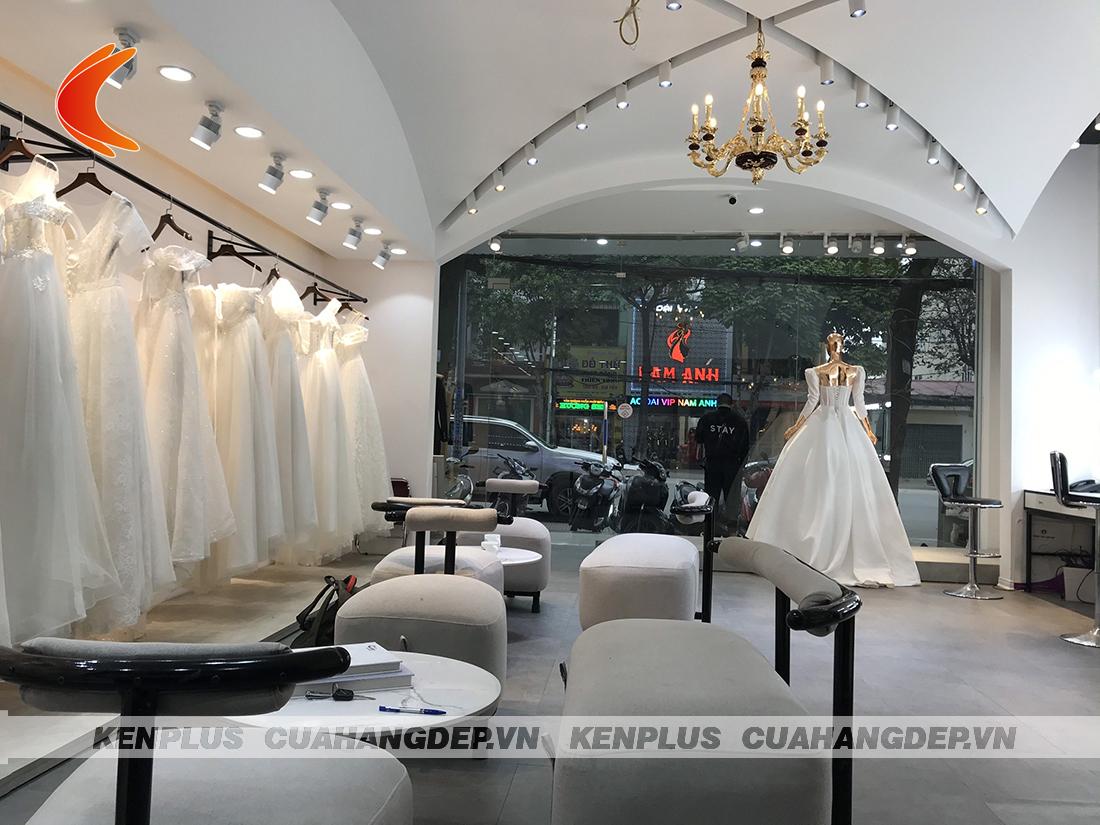 Thi công ảnh viện áo cưới Caro Studio