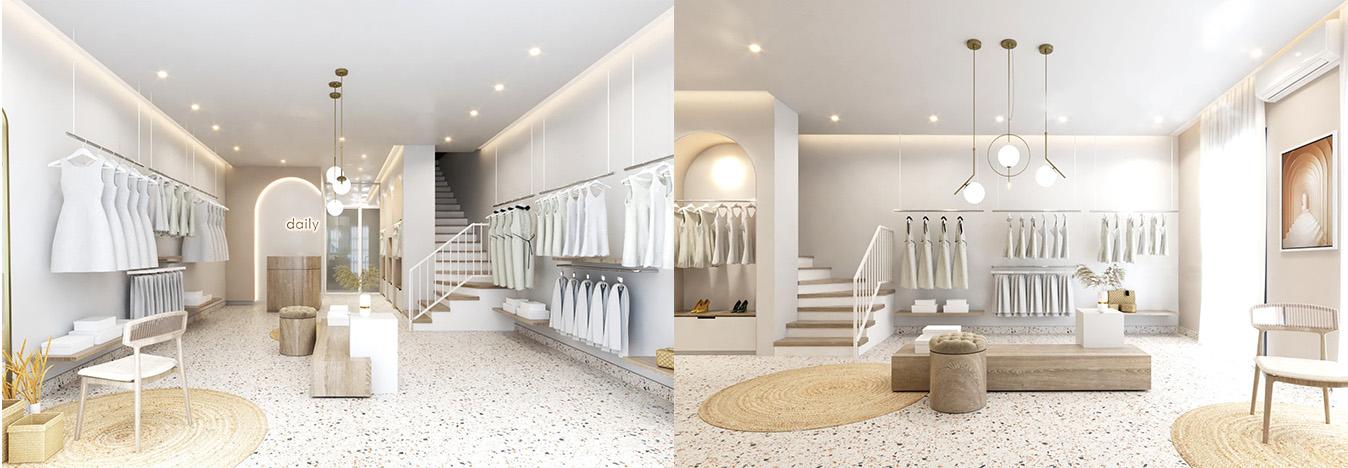 Thiết kế shop thời trang DAILY
