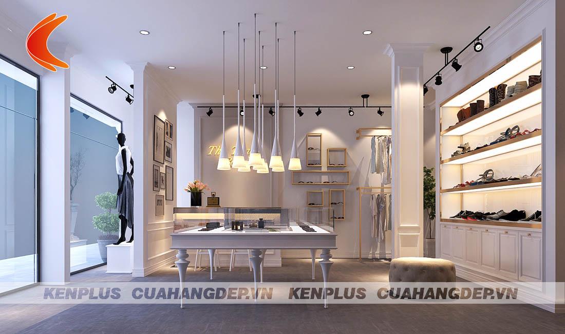 Thiết kế cửa hàng phụ kiện thời trang Thu Thảo