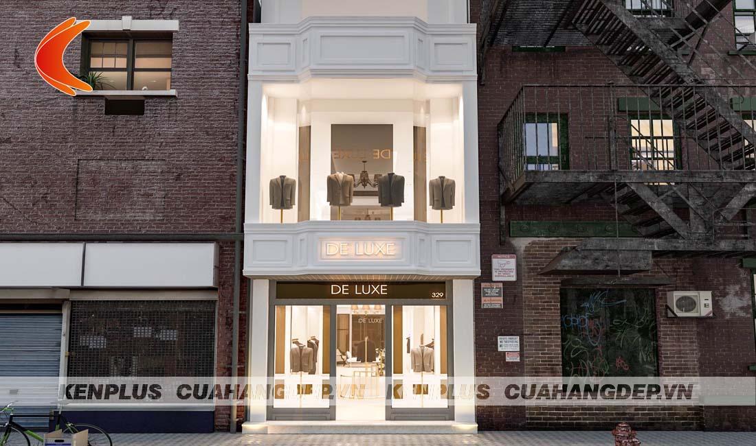 Thiết kế cửa hàng thời trang De Luxe cơ sở 2