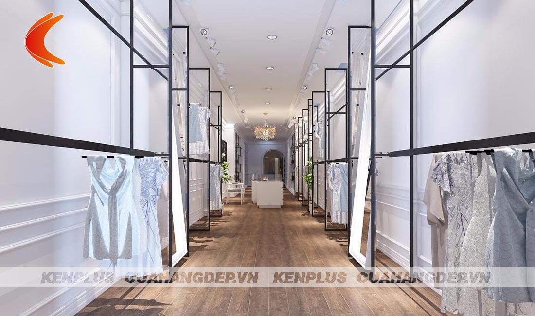 Thiết kế shop thời trang nữ - Sức quyến rũ không thể chối từ