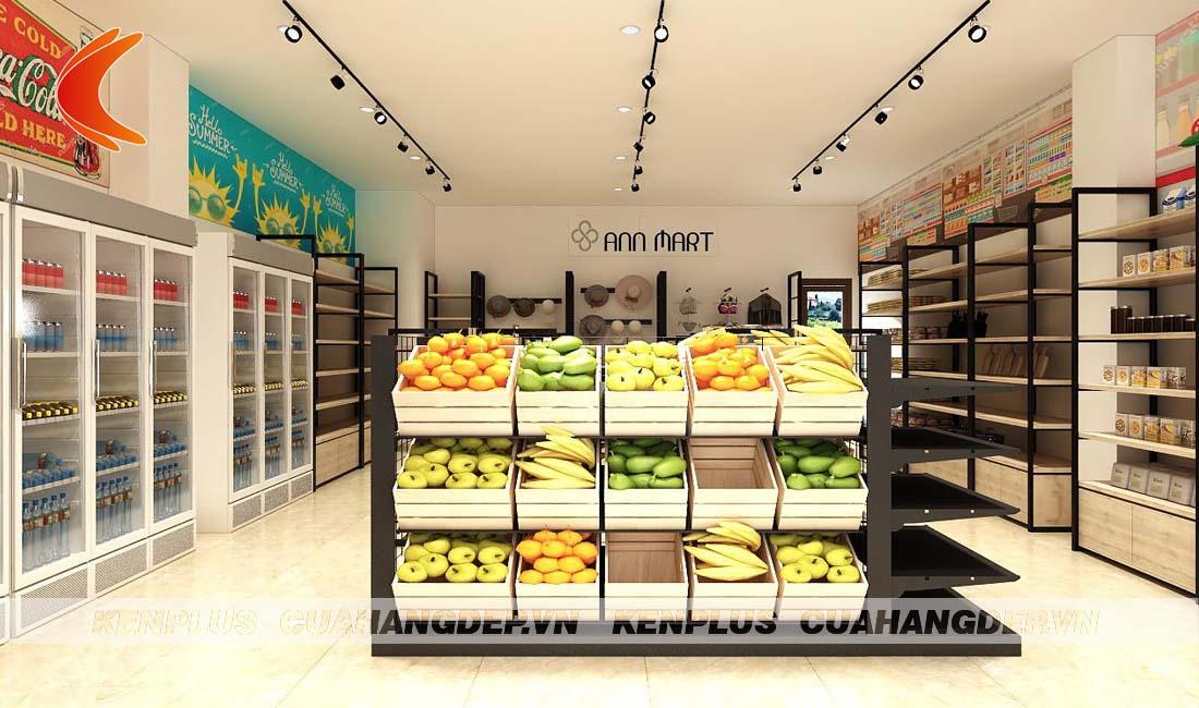 Thiết kế siêu thị mini Ann Mart tại Phú Quốc