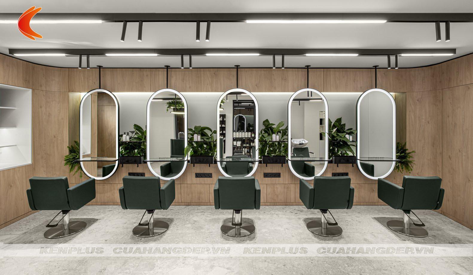 Thiết kế thi công tiệm tóc cần bao nhiều vốn?