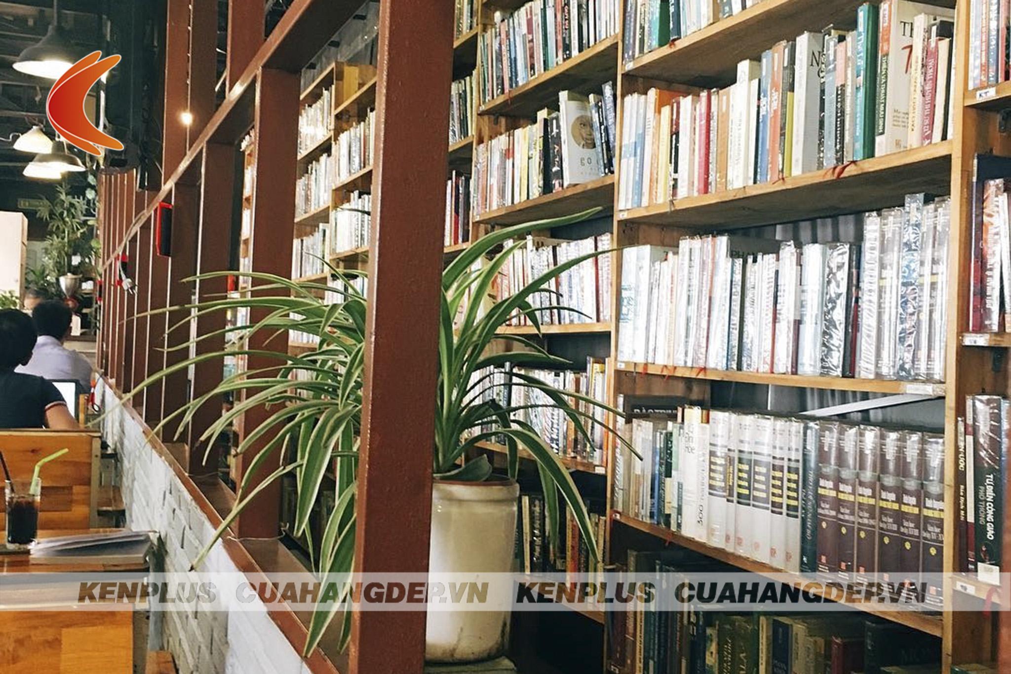 thiết kế cửa hàng sách mini tiết kiệm