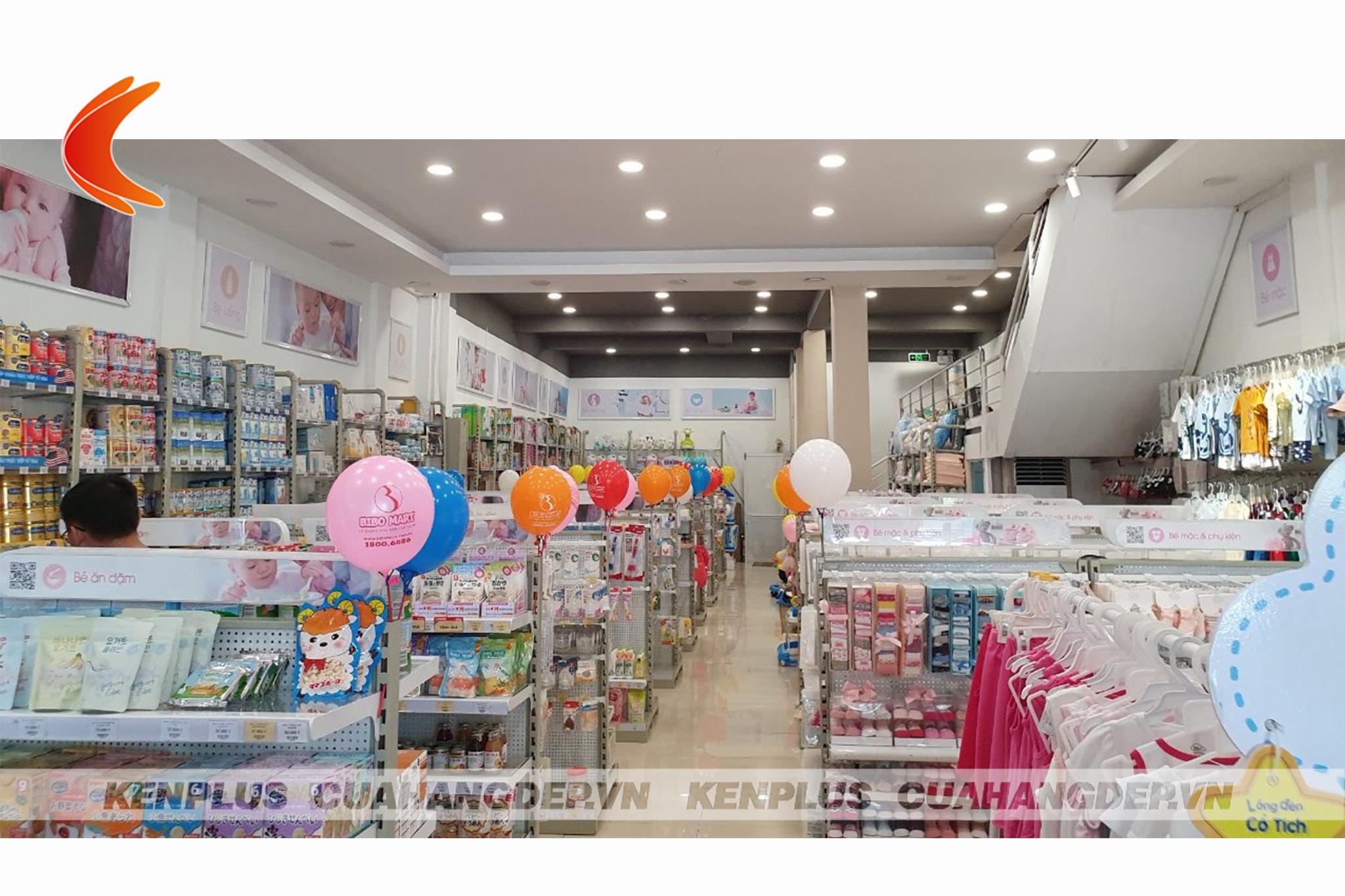 cách sắp xếp cửa hàng mẹ và bé 4