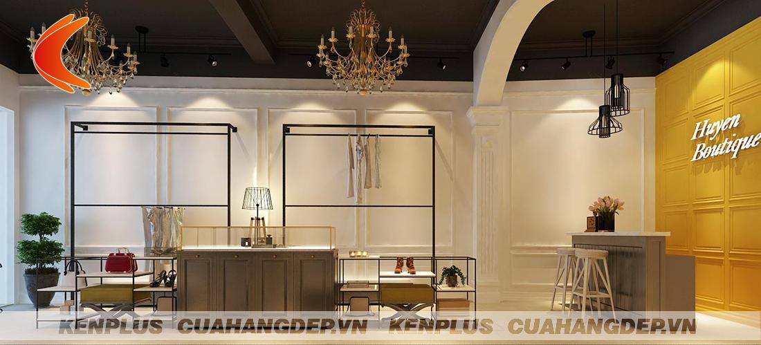 Thiết kế shop thời trang Huyền Boutique Hàng Bông