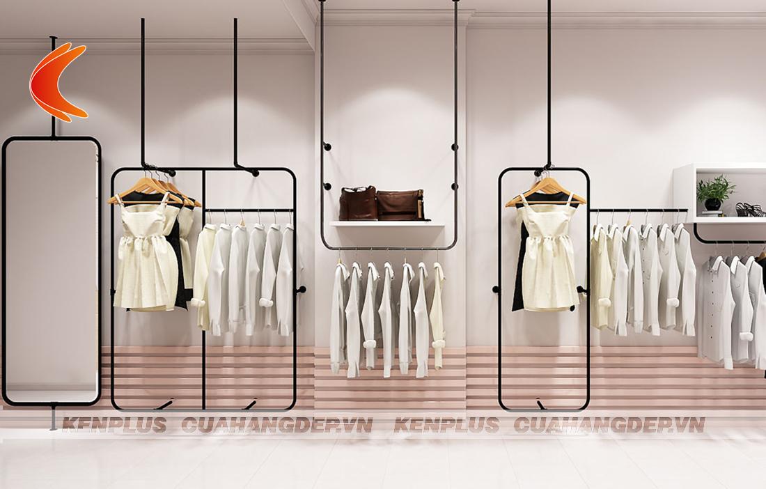 Thiết kế nội thất shop thời trang hiệu quả