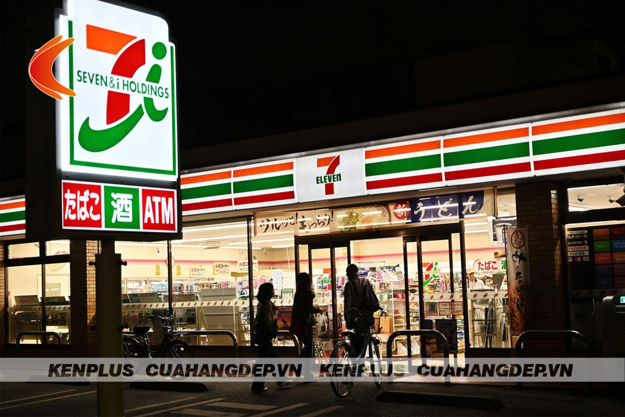 thiết kế siêu thị mini thu hút 02